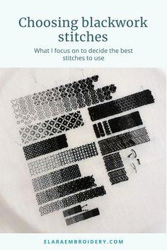 Blackwork Cross Stitch, Cross Stitch Geometric, Blackwork Embroidery, Cross Stitch Pillow, Hand Embroidery Videos, Embroidery Fabric, Embroidery Techniques, Cross Stitching, Cross Stitch Embroidery