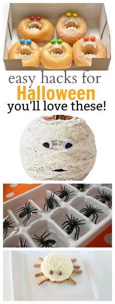 Easy Halloween Hacks the kids will love