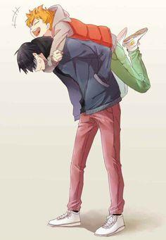 Daisuga, Kuroken, Haikyuu Manga, Haikyuu Fanart, Kagehina Cute, Yuri, Kageyama X Hinata, Haikyuu Volleyball, Haikyuu Ships
