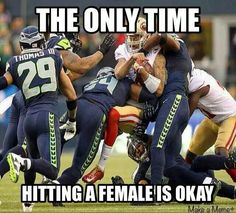 The only time! Seahawks Football, Seattle Seahawks, Seahawks Memes, Seahawks Fans, Football Is Life, Sport Football, Seahawks Gear, Football Baby, Nfl Memes