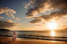 Sessão de Fotos de Casais na Praia