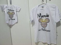 Kit Mamãe da Princesa ... Princesa da Mamãe !!! By Silkstars
