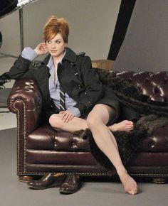 Celebrity Leg Show: Christina Hendricks