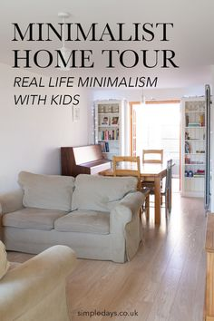 Superior Minimalist Home Tour   Real Life Minimalism With Kids