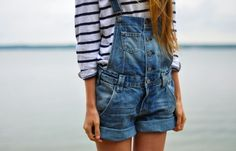 overall shorts - yes!