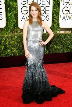 Julianne Moore in Givenchy.  http://www.andychouin.com/