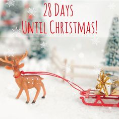 Only 28 Days Until #Christmas!!