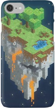 Minecraft HEXELS iPhone 8 Cases