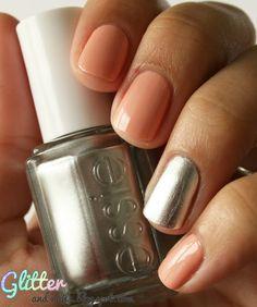 Glitter and Nails: Abricot, Cœur, Chrome & Scotch : Essie No Place Like Chrome + A Crewed Interest