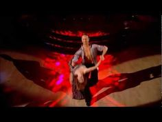 Darcey Bussell  Ian Waite - American Smooth - Strictly Come Dancing 2012