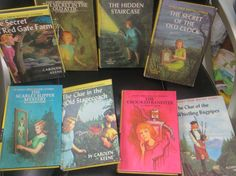 NANCY DREW Painted Covers Lot of 8 by HolySerendipity on Etsy via http://MyClassicJewelry.com/shop