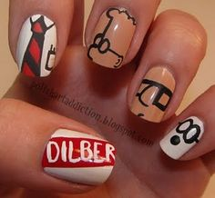 I suck at painting nails but this is too cool!