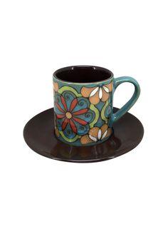 A Loja do Gato Preto | Chávena de Café Marbella Azul #alojadogatopreto