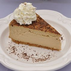 Creamy Tiramisu Cheesecake recipe - maybe put some chopped pecans in the crust...yum!