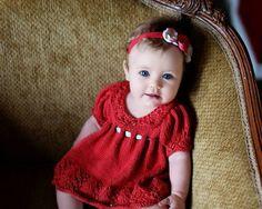 Gracie Dress, Newborn - via @Craftsy