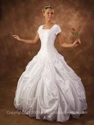 I like the poofy dress. :) What can I say? I am kind of a princess. :)
