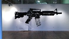 perspective illusion machine gun