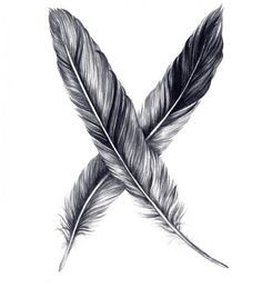 feather tattoo for men - Google Search