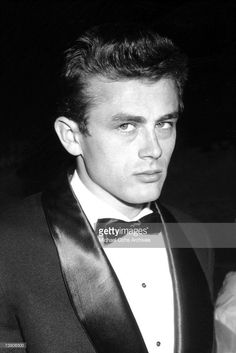 Movie star James Dean attends the Premiere of Sabrina on September 22 1954 in Los Angeles, California.