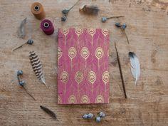 Hand Bound Sketchbook / Journal / Notebook  A5 by TheEloiseBindery