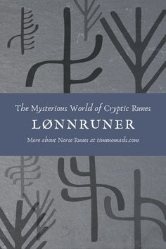 """Lønnruner means """"secret runes"""" in Norwegian. It was a way to encode runic messages (another method would be to create bind runes) and most likely, as runologist Jonas Nordby suggests, they were used to hide a message, as a game or as a way of making the process of learning the runes a bit more entertaining (and in some cases… maybe to brag a little bit!) Occult Symbols, Spiritual Symbols, Viking Symbols, Spiritual Path, Spiritual Practices, Spiritual Awakening, Elder Futhark Alphabet, Runic Alphabet, What Is Spirituality"""