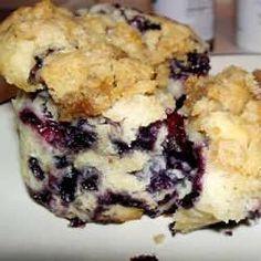 Muffins parfaits aux bleuets - Recettes Allrecipes Québec