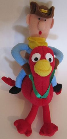 Rudolph and the Island of the Misfit Toys Cowboy on Red Ostrich. 8