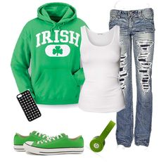 """""""Happy St. Patrick's Day!!!"""" by callico32 on Polyvore"""