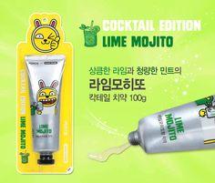 PERIOE KAKAO FRIENDS Cocktail Edition Lime Mojito 100g KOREA Toothpaste #PERIOE