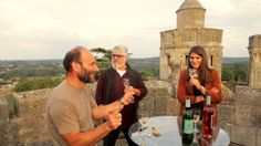 Wine tasting at the top of the Castle - Château de Camarsac - Camarsac, France