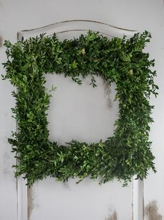 The preceding method however,  is to preserve a pre-made wreath that you might have purchased at a nursery or store.