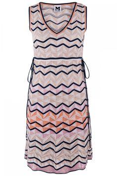 M-Missoni Damen Strickkleid Beige/Rosa | SAILERstyle M Missoni, Two Piece Skirt Set, Summer Dresses, Skirts, Fashion, Pink Ladies, Under Dress, Cotton, Breien