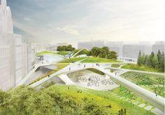 Aberdeen City Garden, Diller Scofidio + Renfo, Olin Studio