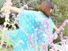 DIY Summer Caftan Dress-sew and no sew | diykawaii