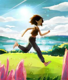 Marceline can finally enjoy the sun. I happy for her but also sad because one day she will. Adventure Time Marceline, Adventure Time Anime, Adventure Time Series Finale, Cartoon Tv, Cartoon Shows, Adventure Time Style, Abenteuerzeit Mit Finn Und Jake, Adveture Time, Adventure Time Wallpaper