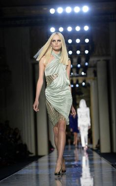 2014 HAUTE COUTURE EVENING DRESSES | Milan Fashion Week – Versace Spring / Summer 2014
