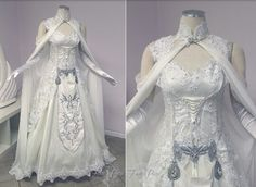 So pretty! Princess Zelda wedding dress!