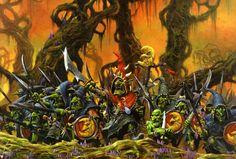 warhammer night goblins artwork - Google Search