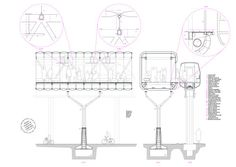 Modular branched stations network - inter-urban mobility infrastructure for Fukushima Construction and building technology lab - UNIT Alberto Ballarin Winter 2014 - ETSAM School of Architecture · Project description Development of a modular...