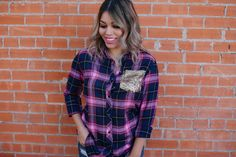 Pretty In Plaid - Pink