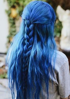 If you've decided to create a beautiful and unique braids then you must see here for best styles for blue braids to sport in 2018. You can this color with thick and thin long braids to obsessing personality. Here we've tried our best to give some fresh ideas of blue braids so that you may easily get stunning looks.
