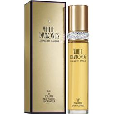 White Diamonds by Elizabeth Taylor Eau De Toilette Spray for Women Elizabeth Taylor, Celebrity Perfume, Taylor White, Best Perfume, David Beckham, Beauty Trends, Liz Claiborne, Lipstick, White Diamonds