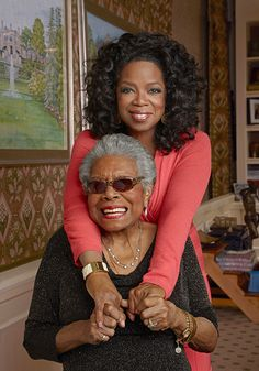 Dr. Maya Angelou was Oprah's biggest mentor. Read how Oprah reflects back on what she learned from this incredible woman: