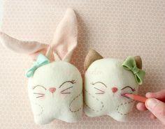Free - Snuggle Bunny and Kitty   Craftsy