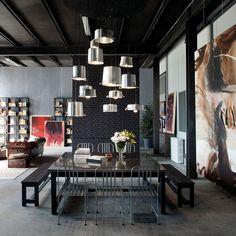 Loft Minacciolo: Cutting-Edge Design Solutions Wrapped in Dark, Dramatic Panache