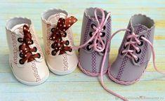 DIY Botas de goma eva para muñecas