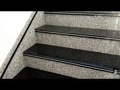 Stairs Tiles Design, Staircase Design Modern, Staircase Railing Design, Marble Staircase, Home Stairs Design, Interior Stairs, Granite Stairs, Granite Flooring, House Ceiling Design