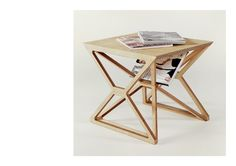 Gustav Düsing - Small Space Frame Table