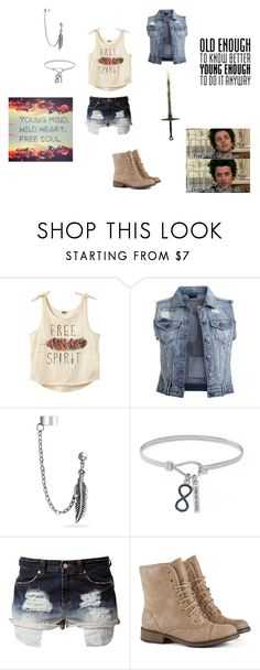 """""""Hebe Cabin Outfit"""" by devils-daughter159 on Polyvore featuring Marvel, Vila Milano, Bling Jewelry, BCBGeneration and Jeane Blush"""