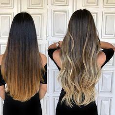 """2,627 curtidas, 29 comentários - GLAYDA ARTUSO (@glayda) no Instagram: """"Antes ❌ Depois de Thaís, que desejava dar em Up em seu visual mas que possuía em seu Hair um…"""""""